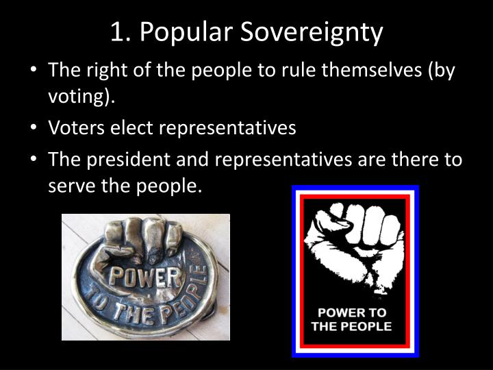 1. Popular Sovereignty