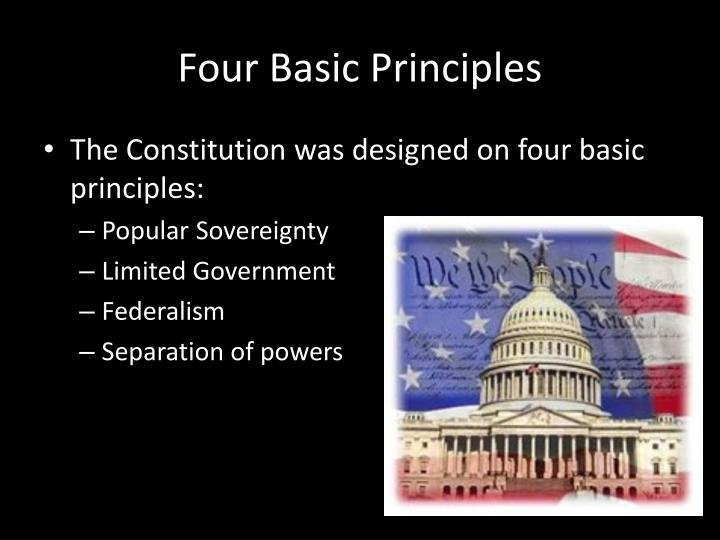 Four Basic Principles