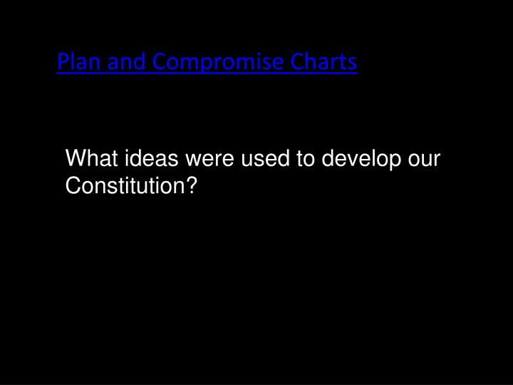 Plan and Compromise Charts