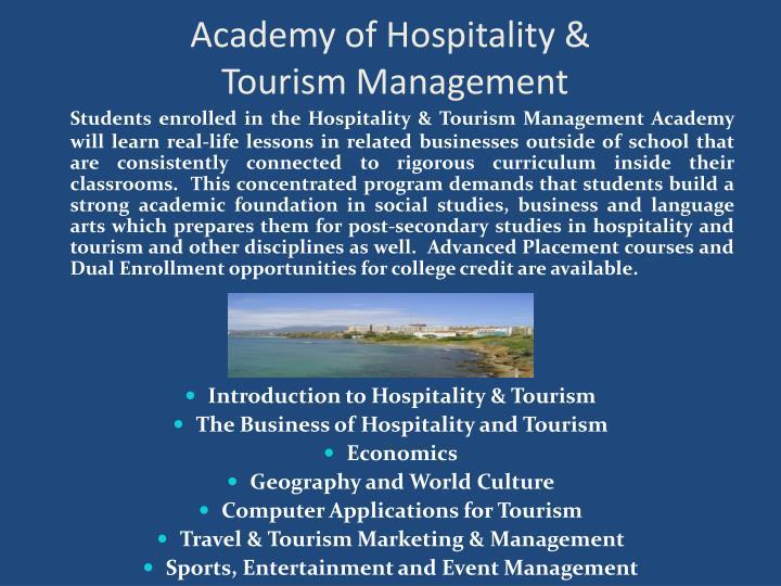 Academy of Hospitality &