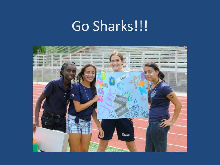 Go Sharks!!!
