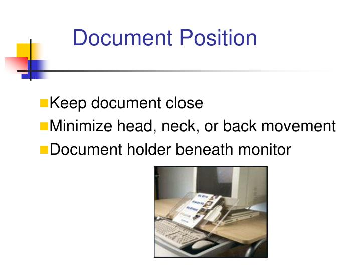 Document Position