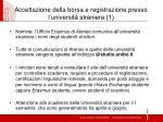 accettazione della borsa e registrazione presso l universit straniera 1