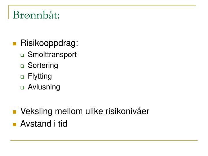 Brønnbåt: