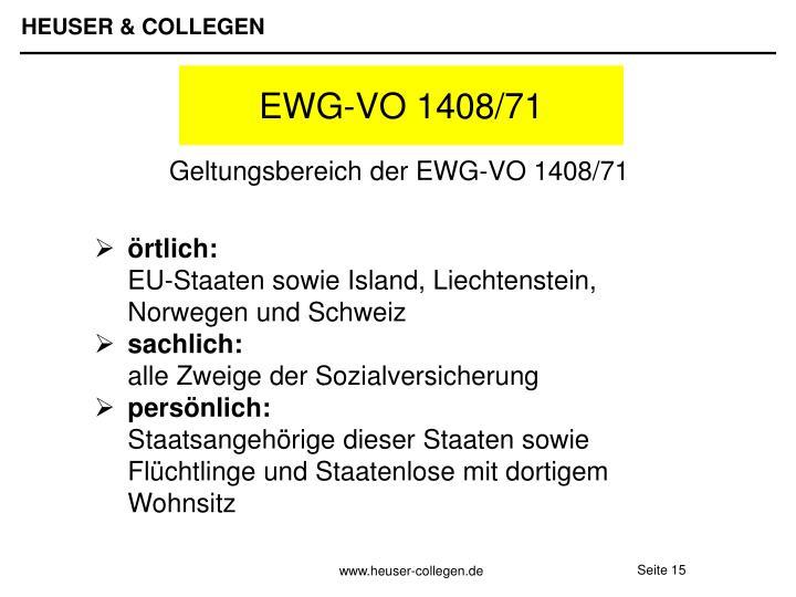 EWG-VO 1408/71