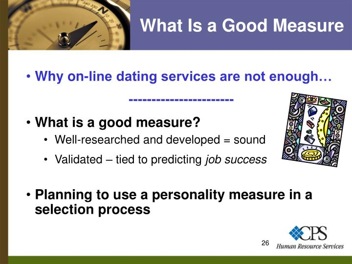 What Is a Good Measure