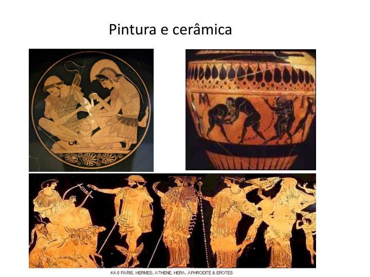 Pintura e cerâmica