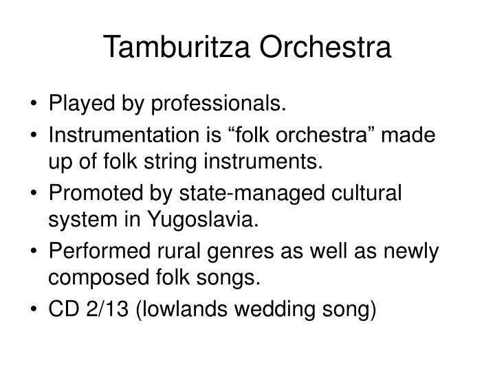 Tamburitza Orchestra