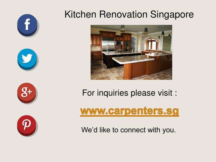 Kitchen Renovation Singapore