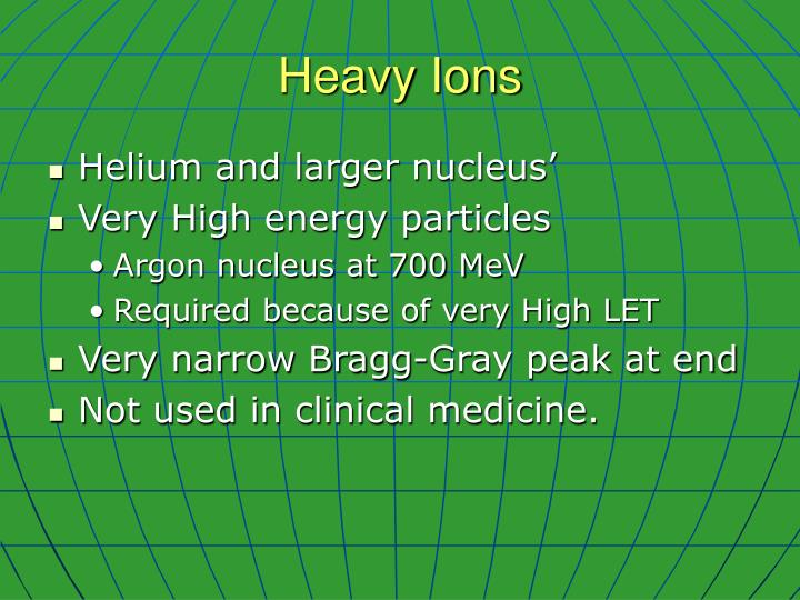 Heavy Ions
