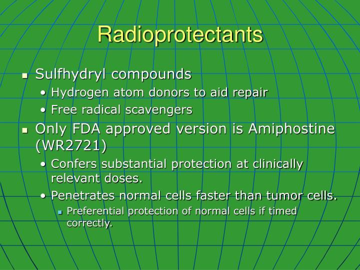 Radioprotectants