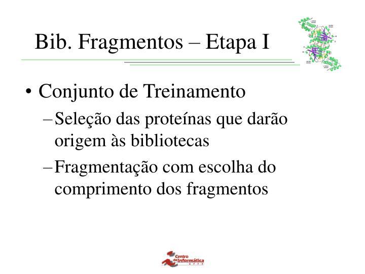 Bib. Fragmentos – Etapa I