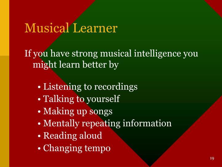 Musical Learner