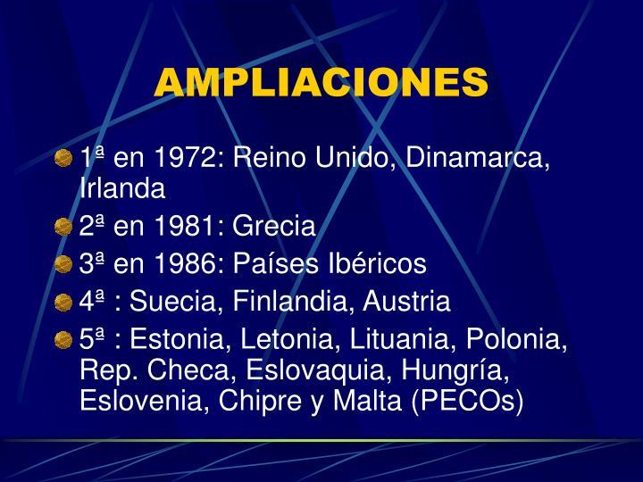 AMPLIACIONES