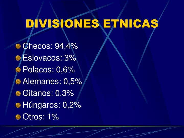 DIVISIONES ETNICAS