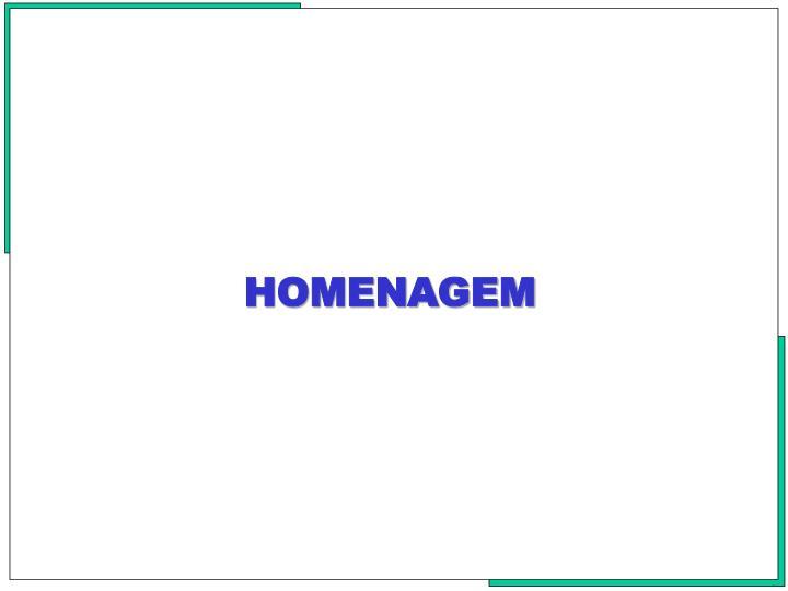 HOMENAGEM