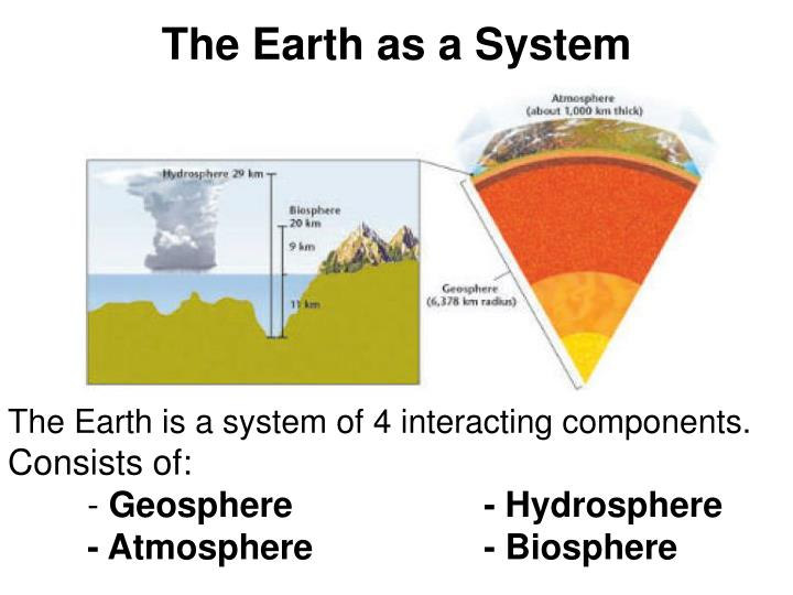 The earth as a system