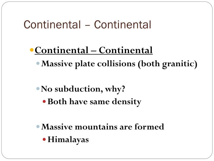 Continental – Continental