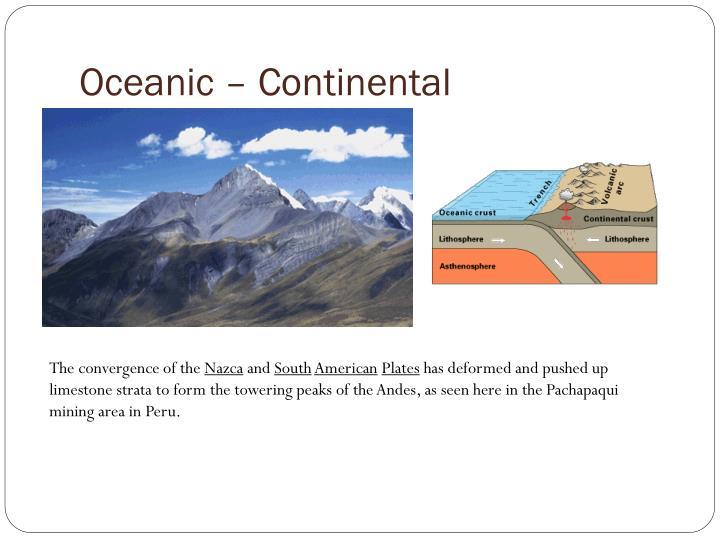 Oceanic – Continental