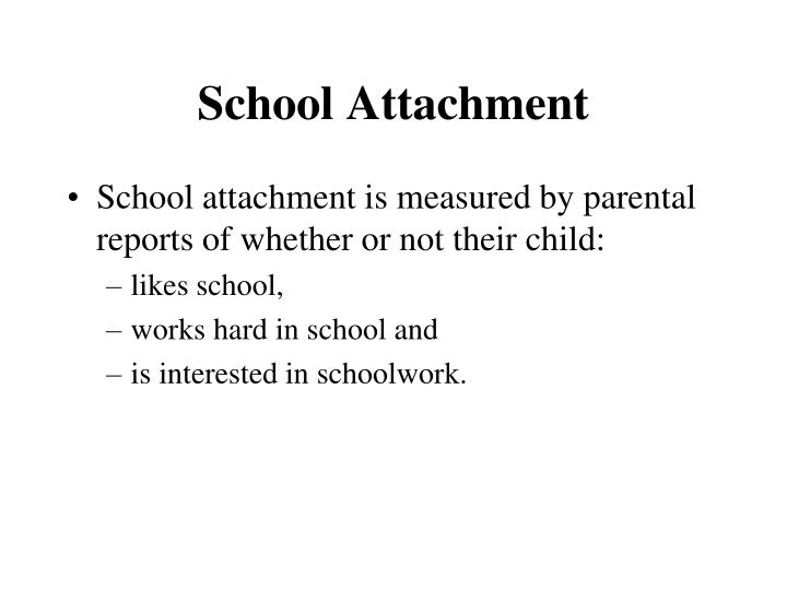 School Attachment