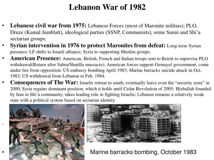 Lebanon War of 1982