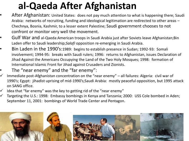 al-Qaeda After Afghanistan
