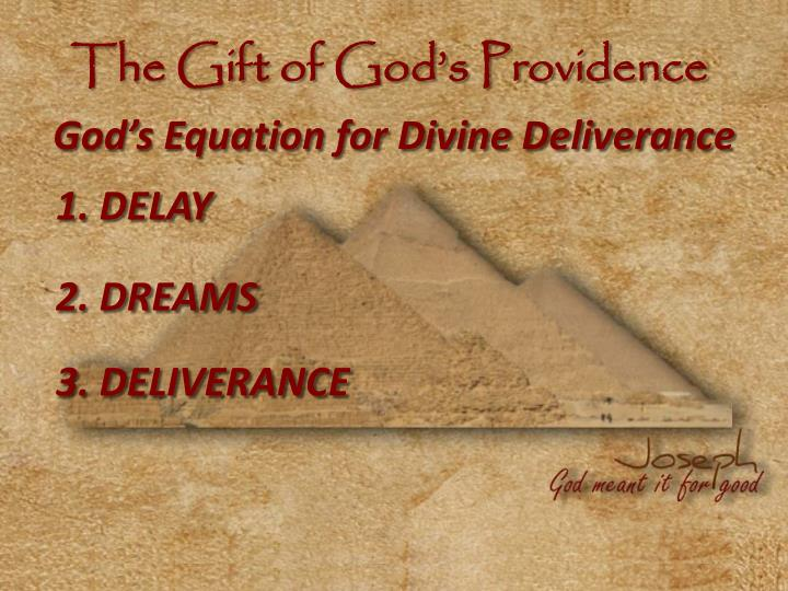 The Gift of God's Providence