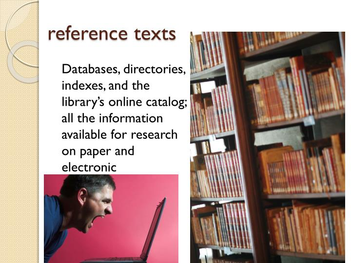 reference texts