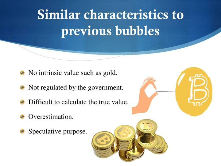 Similar characteristics to previous bubbles