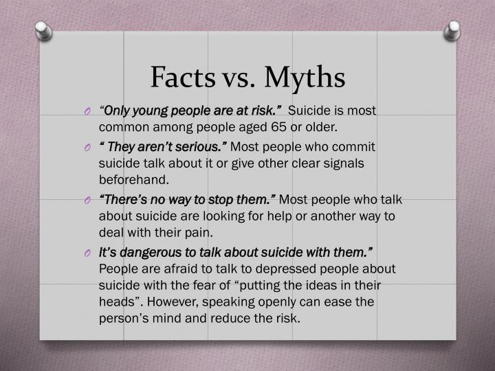 Facts vs. Myths