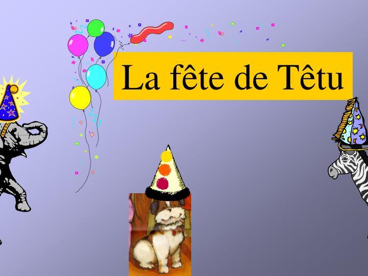 La fête de Têtu
