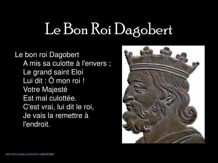 Le Bon Roi Dagobert