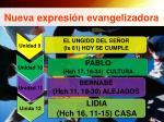 nueva expresi n evangelizadora