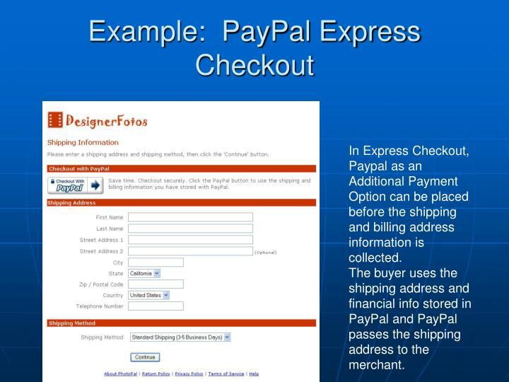 how to pay directly into a paypal account
