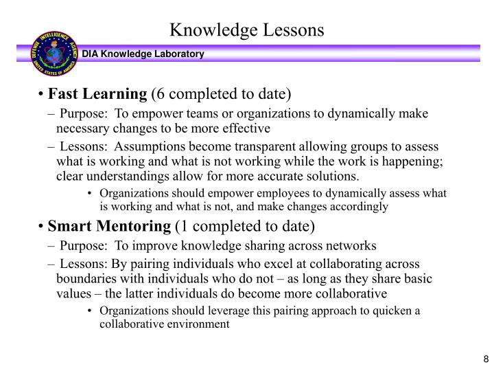 Fast Learning