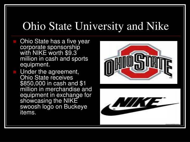Ohio State University and Nike