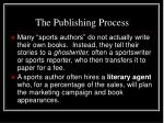 the publishing process