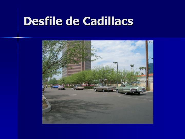Desfile de Cadillacs