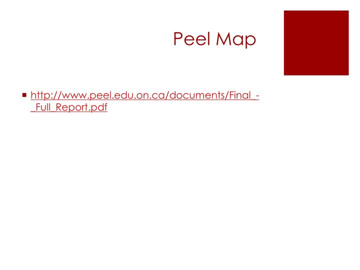 Peel Map