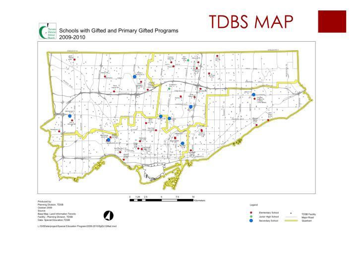 TDBS MAP