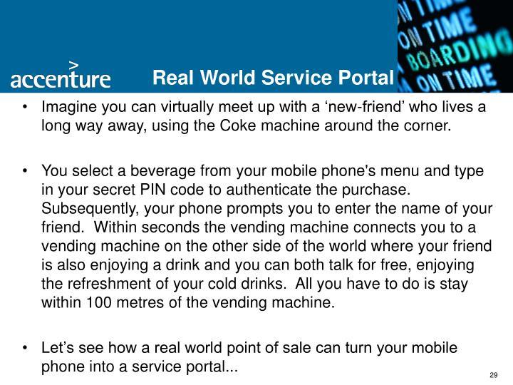 Real World Service Portal