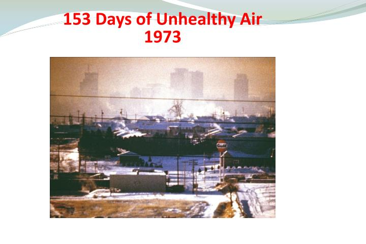 153 Days of Unhealthy Air