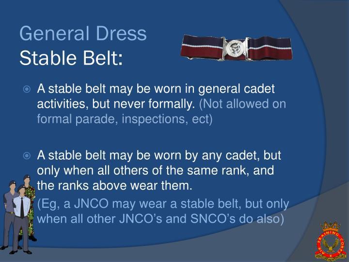 General Dress