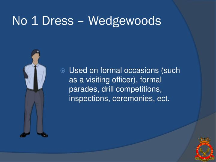 No 1 dress wedgewoods
