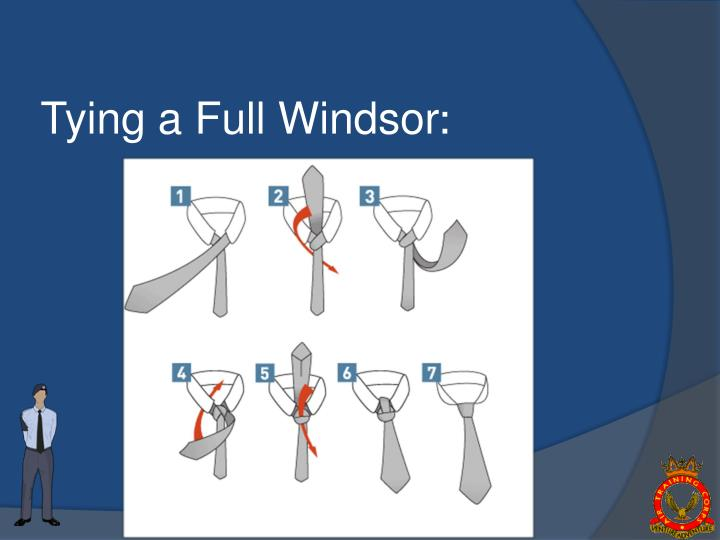 Tying a Full Windsor
