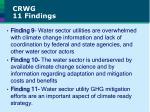 crwg 11 findings2
