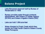 solano project