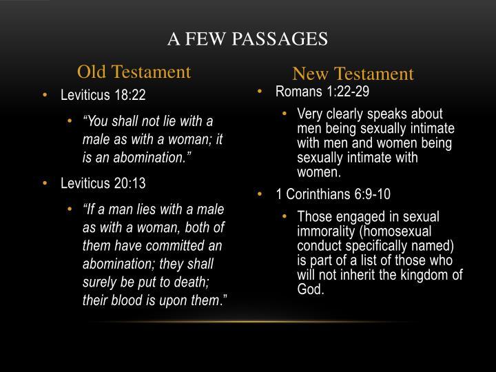 A Few Passages