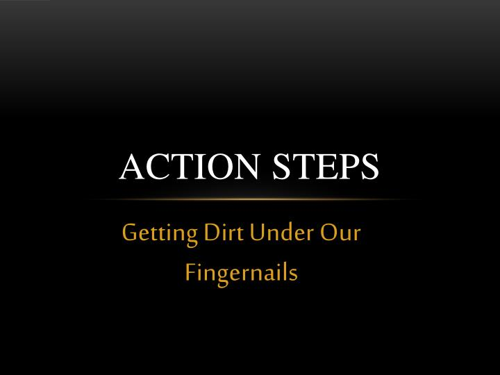 Action Steps