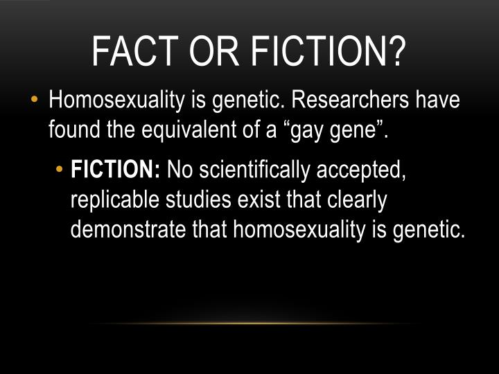 Fact or Fiction?